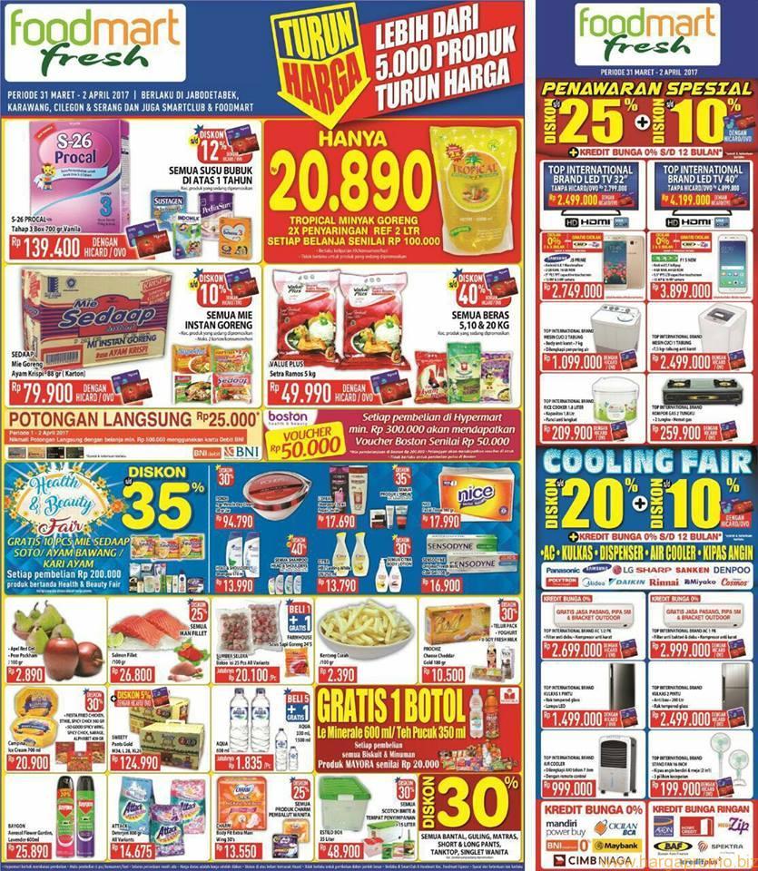 36 Download Promo Hypermart Maret Free Voucher Belanja Katalog Harga 2 31 April Foodmart 2017